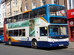Stagecoach TransBus Trident (TransBus ALX400) 18149 PX04 DOJ (Alex S. Transport Photography) Tags: bus outdoor road vehicle stagecoach stagecoachmidlandred stagecoachmidlands route7 alx400 alexanderalx400 dennistrident transbustrident trident transbusalx400 18149 px04doj