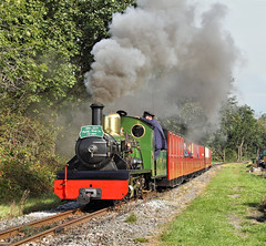 More River Irt Clag. (Neil Harvey 156) Tags: steam steamloco steamengine steamrailway railway riverirt claytonwest kirkleeslightrailway estatesrailwaysgala miniaturerailway