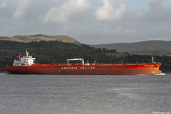 The Greek registered tanker Aegean Horizon, IMO 9326811, 158,738 DWT; Firth of Clyde, Scotland (Michael Leek Photography) Tags: ship tanker vessel oilindustry oiltanker crudeoiltanker vlcc boat greece greek firthofclyde clyde westcoastofscotland westernscotland scotland scottishcoastline scottishlandscapes scotlandslandscapes scottishshipping lochlong finnart dunoon cowal cowalpeninsula argyllandbute argyll thisisscotland michaelleek michaelleekphotography arcadiahellas