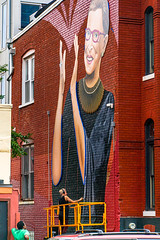 2019.09.14 Ruth Bader Ginsburg Mural, Washington, DC USA 257 33032