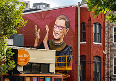 2019.09.14 Ruth Bader Ginsburg Mural, Washington, DC USA 257 33042