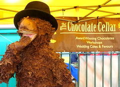 Chocolate bear at Wirral Food & Drink Festival 2019 (Tony Worrall) Tags: wirral food drink festival 2019 wirralfooddrinkfestival2019 nw northwest north update place location uk england visit area attraction open stream tour country item greatbritain britain english british gb capture buy stock sell sale outside outdoors caught photo shoot shot picture captured ilobsterit instragram event show annual birkenhead chocolate sweet bear quirky chocolatecellar stall