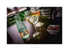 Vichy Catalan (RichardK2019) Tags: vichycatalan leicaq magicelixir what'sthatrumblingnoise hss spain losarenales valenciaprovince lamilla green glass closeup drink tilt
