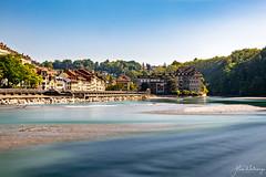 Quartier de la Matte-Berne (alain.winterberger) Tags: berne bern aare aar capitale suisse switzerland schweiz svizerra eau water matte filtre nd1000 city ville nature nikon natura