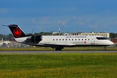C-FDJA (Air Canada EXPRESS - JAZZ) (Steelhead 2010) Tags: aircanada aircanadaexpress yul jazz bombardier canadair crj200 crj creg cfdja