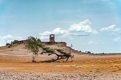 Border Post (Rod Waddington) Tags: africa african afrique afrika äthiopien kenya kenyan ethiopia ethiopian ethnicity etiopia ethiopie border post landscape building tree