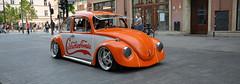orange beetle (rafasmm) Tags: łódź lodz poland polska europe tuning tuned car orange beetle volkswagen city street streetphoto streetphotography streets streetscene color outdoor nikon d90 sigma 1020 ex town walk