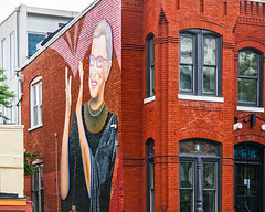 2019.09.14 Ruth Bader Ginsburg Mural, Washington, DC USA 257 33026