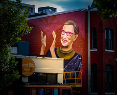 2019.09.14 Ruth Bader Ginsburg Mural, Washington, DC USA 257 33041