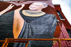 2019.09.14 Ruth Bader Ginsburg Mural, Washington, DC USA 257 33015