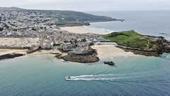 St Ives in Cornwall - aerial image (John D Fielding) Tags: stives cornwall northcornwall coast coastal coastline above aerial dji drone uav cameradrone mavic mavicpro hires highresolution hirez highdefinition hidef britainfromtheair britainfromabove skyview aerialimage aerialphotography aerialimagesuk aerialview viewfromdrone aerialengland britain johnfieldingaerialimages johnfieldingaerialimage johnfielding fromtheair fromthesky flyingover