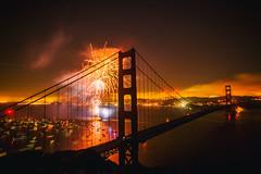 And On the Highway of Regret (Thomas Hawk) Tags: 75thbirthdaygoldengatebridge america batteryspencer california goldengatebridge marin marinheadlands sanfrancisco usa unitedstates unitedstatesofamerica bridge fireworks millvalley fav10 fav25 fav50 fav100