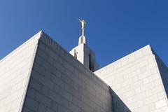 Draper Temple Shapes (aaronrhawkins) Tags: draper utah temple mormon church churchofjesuschristoflatterdaysaints spire shadow shape geometry architecture blue sky angel moroni aaronhawkins