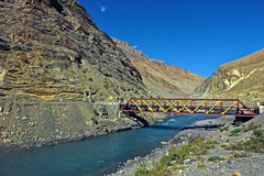 The Bridge !! (Lopamudra !) Tags: lopamudra lopamudrabarman lopa landscape bridge river water waterscape nature spiti spitivalley valley vale dhankar india himalaya himalayas himachal himachalpradesh himalay highland highaltitude hp mountain mountains colour color colours colourful cold beauty beautiful picturesque