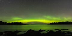 Pont spectral/Spectral bridge/puente espectral (Ceomga) Tags: claudehamel parcdubic auroresboréales northernlights auroraborealis étoiles stars estrellas fleuve aurores