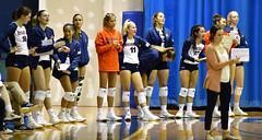 ccsuvolleyball-br-091619_1393 (newspaper_guy Mike Orazzi) Tags: volleyball collegeathletics collegesports 300mmf28dii d850 nikon nikkor sportsphotograher sportsphotography bucknelluniversity ccsu bluedevils bisons women availablelight highiso