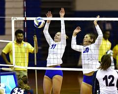 ccsuvolleyball-br-091619_1316 (newspaper_guy Mike Orazzi) Tags: volleyball collegeathletics collegesports 300mmf28dii d850 nikon nikkor sportsphotograher sportsphotography bucknelluniversity ccsu bluedevils bisons women availablelight highiso