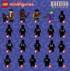 Lego Batman Beyond Minifigure Series (Jacob Customs) Tags: lego batman beyond minifigure collectable series list