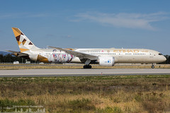 A6-BLG Etihad Airways Boeing 787-9 Dreamliner painted in 'Special Olympics 2019' special colours (FRA - EDDF - Frankfurt) (Sierra Aviation Photography) Tags: lila fraport frankfurtairport germany frankfurt fra eddf boeing embraer airbus bombardier planespotting planespotter spotter avionik spotting aviation luftfahrt airline airlines airways airport runway landing departure arrival jet sierraaviationphotography canon 5d eos engine taxiway terminal apron flugzeug aeroporto avião luchthaven vliegtuig luchtvaart airliner jetliner civilaviation aircraft airplane aeroplano sierraaviation 飛機 飞机 الطائرات 航空機 空港 مطار 机场 航空公司 الطيران エアライン 항공회사