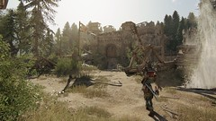 Another Castle to clear (Luv(Sicc)) Tags: forhonor ubisoft ansel shotwithgeforce extreme environment battle 1080p honor orochi katana castle trebuchet ruins knights