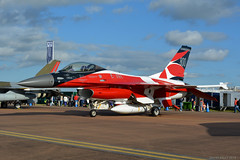 E-191 Danish Air Force General Dynamics F-16, EGVA 20/7/19 (David K- IOM Pics) Tags: royalinternationalairtattoo royal international air tattoo raf fairford ffd egva riat riat2019 static display airshow f16 danish force denmark lockheed martin general dynamics fighting falcon