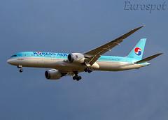 HL8345 Boeing 787 Korean Air (@Eurospot) Tags: lebl barcelona hl8345 boeing 787 7879 koreanair