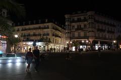 people on a summer night (mgheiss) Tags: canon powershot g9x mk ii2 badenbaden leopoldsplatz powershotg9xmarkii night nacht people street city zentrum