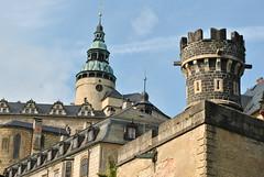 dvě věže, Frýdlant (ondras brabec) Tags: dvě věže frýdlant bohemia castle hrad towers tover věž czech mountains jizera