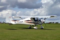 G-CJAP Ikarus C42 FB80 cn 1003-7095 Sywell 01Sep19 (kerrydavidtaylor) Tags: sywellaerodrome orm egbk northamptonshire