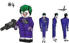 Lego Batman Beyond Minifigure Series (Jacob Customs) Tags: lego batman beyond minifigure collectable series matthew mcginnis j man