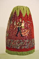 China Poblana Skirt Mexico Textiles (Teyacapan) Tags: falda skirts mexico puebla chinapoblana museum textiles ropa clothing