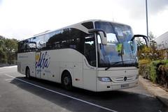 Alfa Travel (Hesterjenna Photography) Tags: bu13ztv bus coach psv mercedes mercedesbenz merc tourismo tour tourer alfa travel excursion morecambe lakedistrict