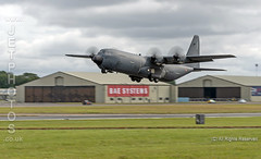French Air Force Hercules C-130J departing the Royal International Air Tattoo 2019 (JetPhotos.co.uk) Tags: airdisplay airshow aircraft bobsharples flying military raffairford riat royalinternationalairtattoo aviation wwwjetphotoscouk hercules c130j frenchairforce armeedelair 61pp 5847 c130 fourprop fourengine turboprop airlift airlifter transport cargo