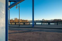 Auf der Sternbrücke (duesentrieb) Tags: architecture architektur bridge brücke deutschland elbe fluss germany infrastructure infrastruktur magdeburg river sachsenanhalt saxonyanhalt sternbrücke strasenlaterne streetlamp