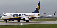 EI-FZK (PrestwickAirportPhotography) Tags: egcc manchester airport ryanair boeing 737 b737 eifzk