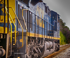 Hop A freight train (Photographybyjw) Tags: hop a freight train out town close enough grab it whistles by me this north carolina shot ©photographybyjw rail road trains rural country