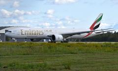 Emirates A6-ENN, OSL ENGM Gardermoen (Inger Bjørndal Foss) Tags: a6enn emirates boeing 777 osl engm gardermoen