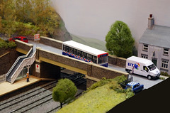 IMGP3477 (Steve Guess) Tags: woking model railway exhibition show surrey england gb uk scale trains western national dennis dart plaxton pointer efe oo 00 176