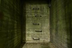 Nuclear Future (Robin Shepperson) Tags: outside beneath underground bunker carpark nuclear green radiation future bleak scifi germany berlin deutschland nikkor city cinematic dark mold concrete war le longexposure dystopia