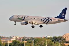 "(ORY) Alitalia Embraer ERJ-190  EI-RND ""Skyteam livery"" Landing runway 06 (dadie92) Tags: orly ory lfpo alitalia embraer erj190 eirnd landing spotting runway06 airplane aircraft nikon d7100 sigma tamron 150500 danieldanel"
