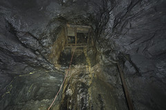 Way down......and up 😉 (lortopalt) Tags: nikon d850 120 meter meters climbing klättrar srt lortopalt stefan abandoned övergiven mine mining gruva