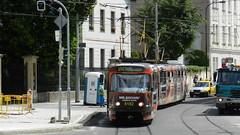 2013-07-01 Praha Tramway Nr.8182 (beranekp) Tags: czech praha prague prag tram tramway tramvaj tranvia strassenbahn šalina elektrika električka tatra t3 8182