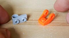 Lego Folding Plate (My Own Design and Print) (hajdekr) Tags: inspiration brick toy design model lego bricks help tip tips custom builder buildingblocks moc myowncreation buildingtoy buildingbricks print 3d plate fold articulated folding cad articulate articulation 3dprinter prusa petg prusament