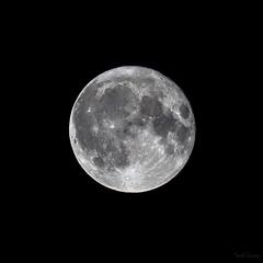Full moon (Traezh) Tags: lune pleine full moon moonlight satellite 5dsr 70200f4lis astre sky espace space