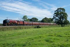 The Duchess on The Duchy (philwakely) Tags: lms 6233 46233 duchessofsutherland royalduchy silverton ellerhayes steam steamlocomotive steamtrains mainlinesteam railtour railway railways rail trains train