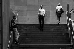 Το Mετέωρο Bήμα (Özgür Gürgey) Tags: 24120mm bw berlin d750 nikon potsdamerplatz theodorosangelopoulos lines movies people steps street
