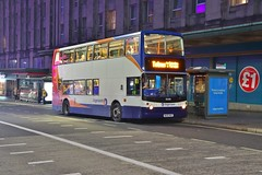Golden Traction (KA Transport Photography) Tags: stagecoach south west 18308 wa05mgz gold plymouth alexander dennis trident alx400
