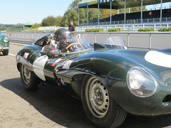 Jaguar D-type (jane_sanders) Tags: goodwood westsussex sussex goodwoodrevival revival motorcircuit testing test jaguardtype jaguar dtype