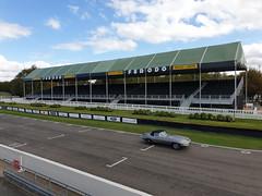Jaguar E-type (jane_sanders) Tags: goodwood westsussex sussex goodwoodrevival revival motorcircuit testing test jaguaretype jaguar etype grandstand