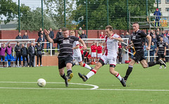 Photo of A clever early finish from Chris Black puts Bankies in front